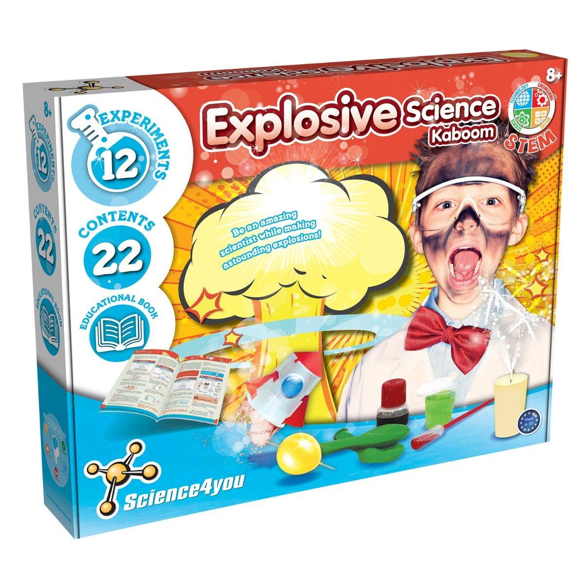 Joc educativ Science4you. set stiinta exploziva