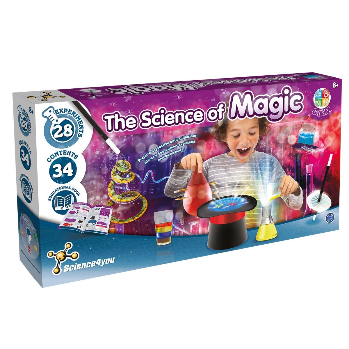 Joc educativ Science4you. stiinta magiei