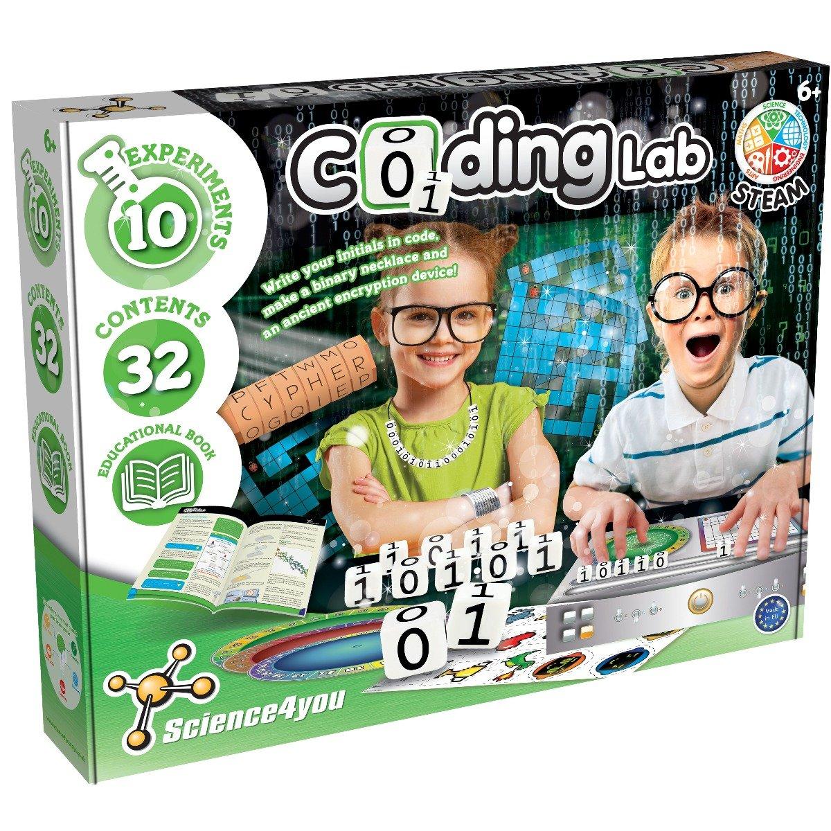 Joc educativ Science4you. Laboratorul de coduri