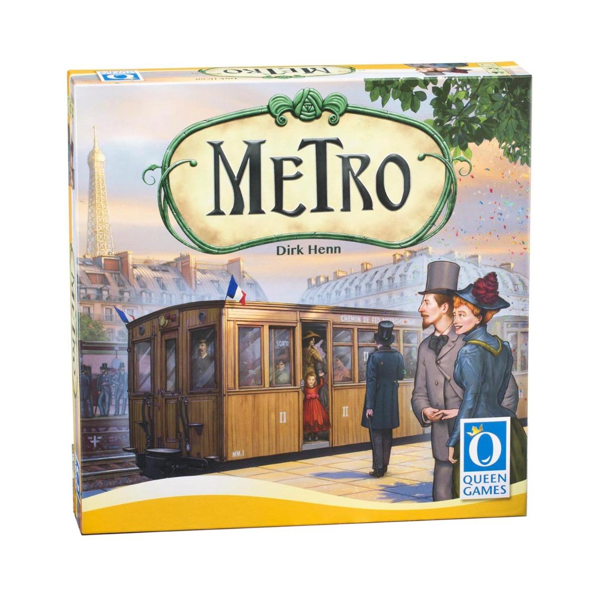 Joc de societate Queen games. Metro