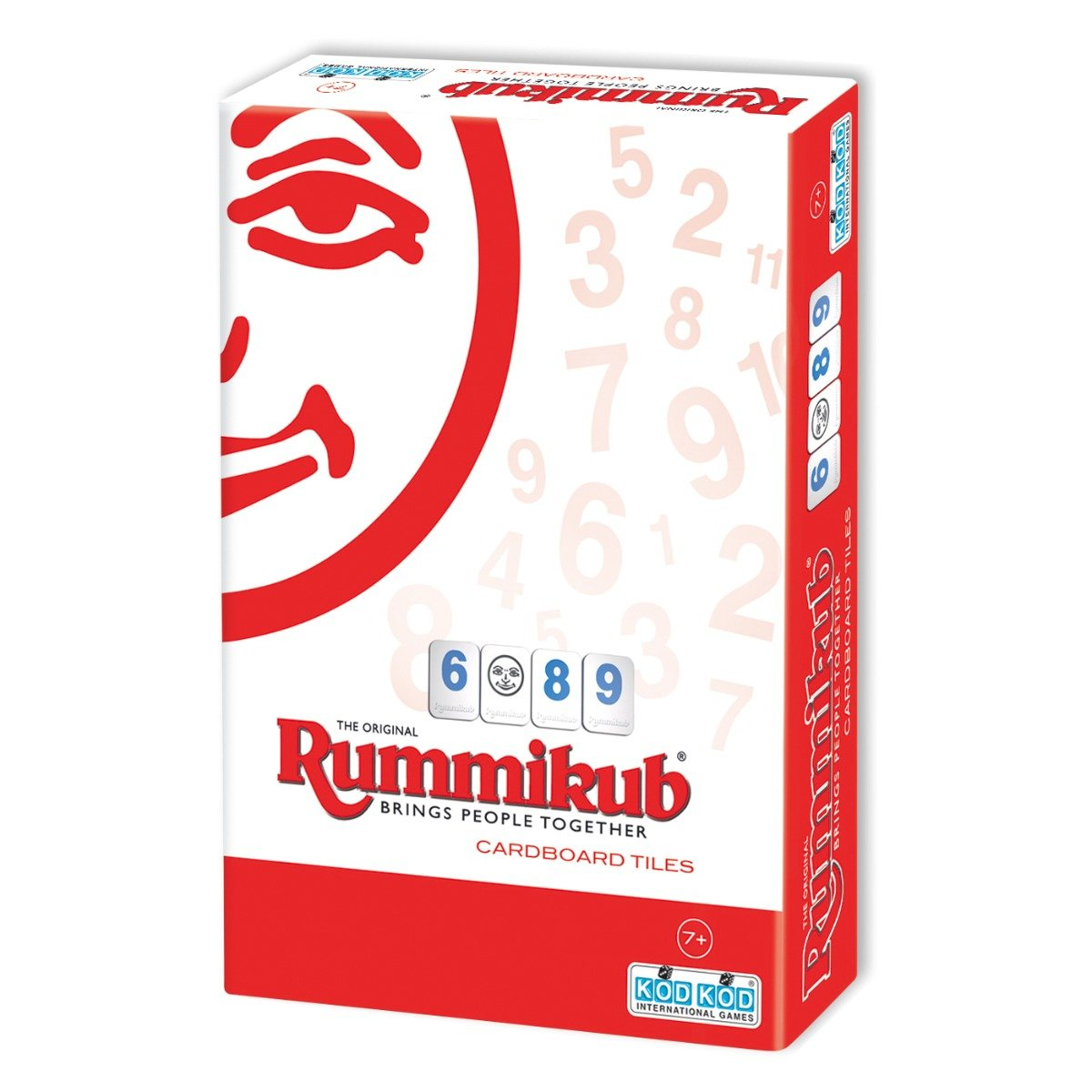 Joc de societate Rummikub Cardboard Lite Mini