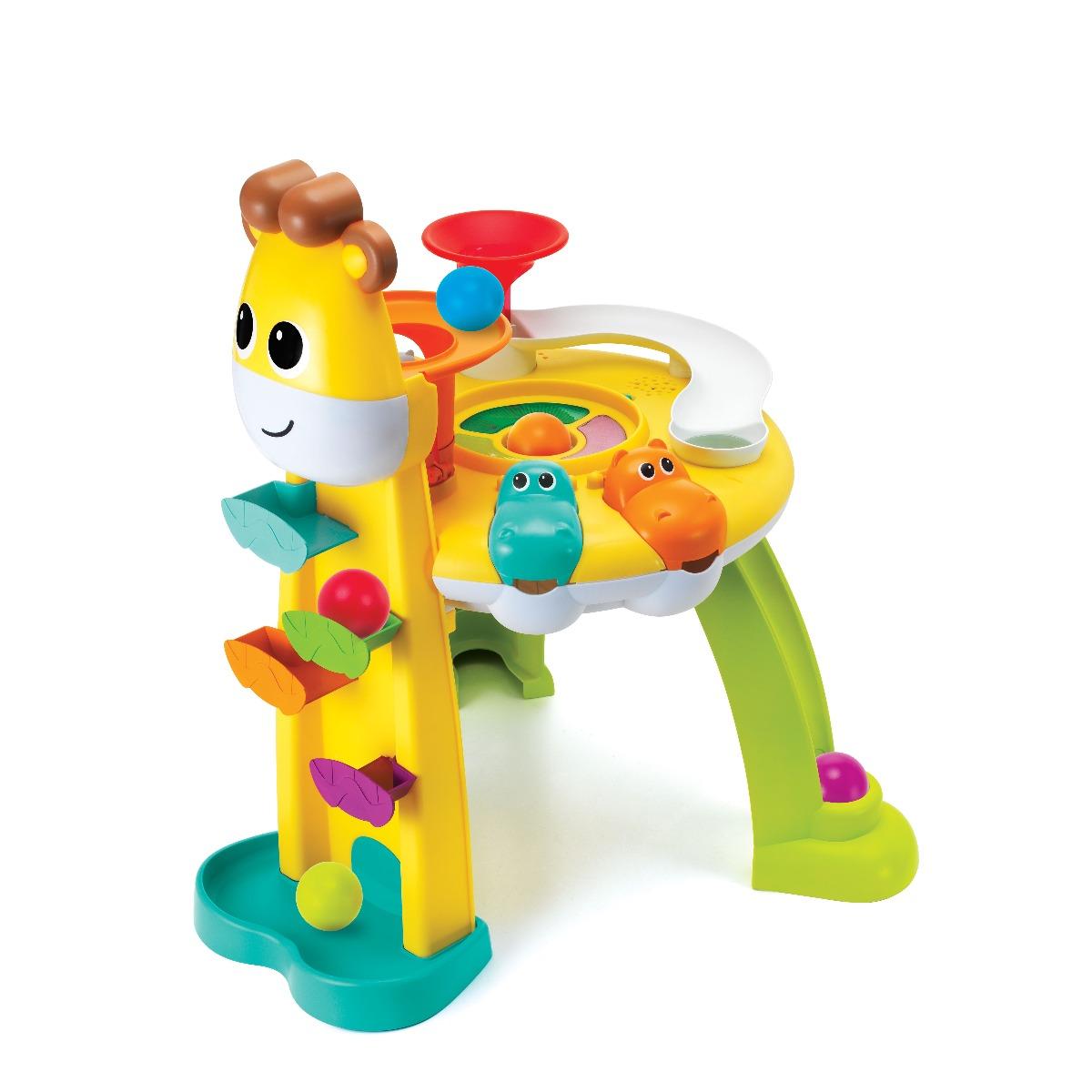 Jucarie bebelusi B Kids. Statie de distractie Girafa