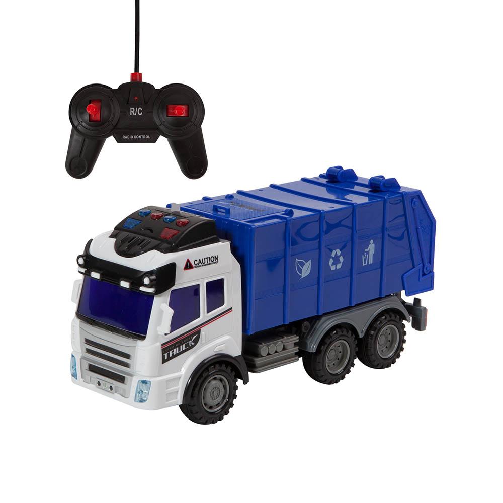 Camion pentru gunoi cu telecomanda - Cool Machines