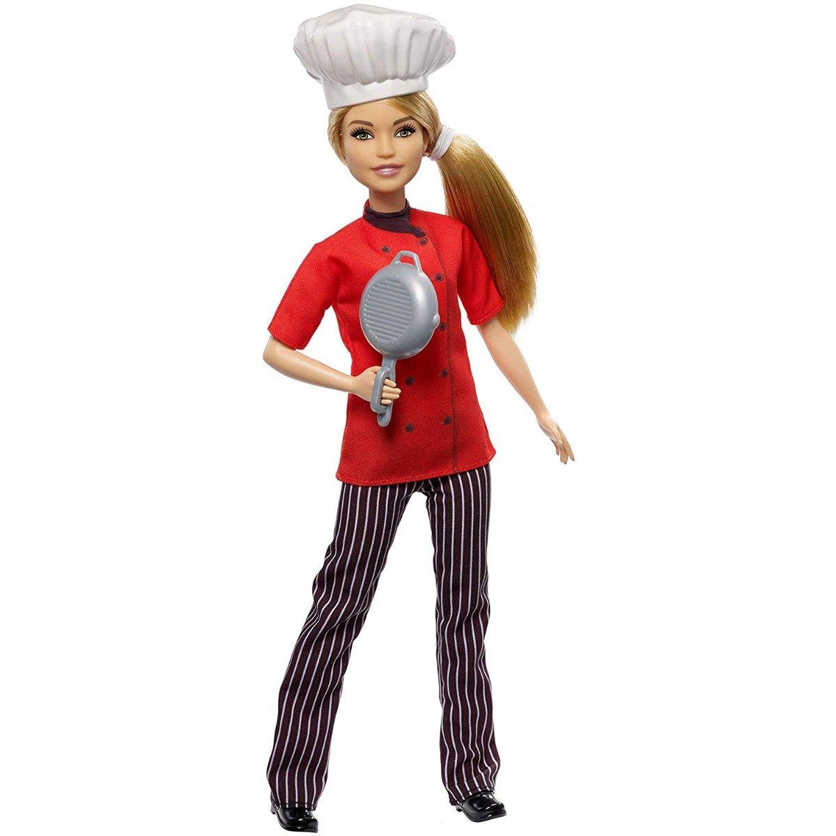 Papusa Barbie Career. Chef. FXN99