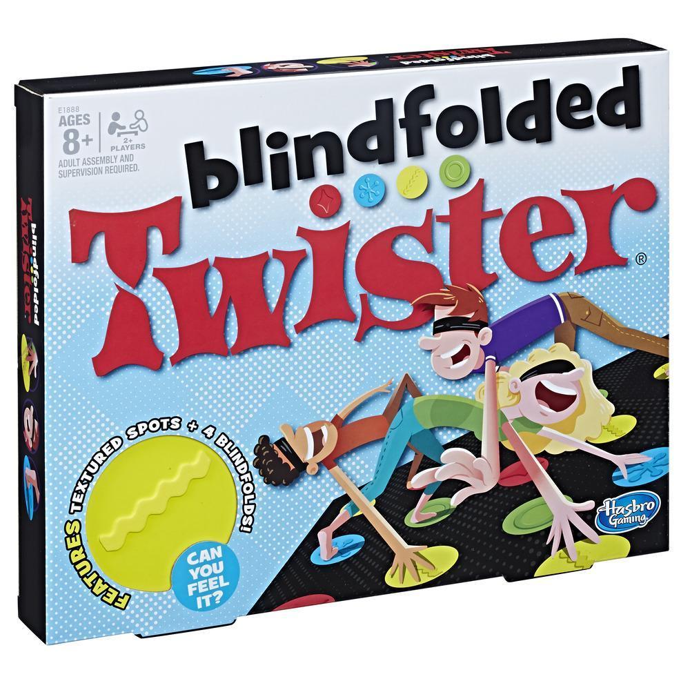 Joc de societate Twister Blindfolded