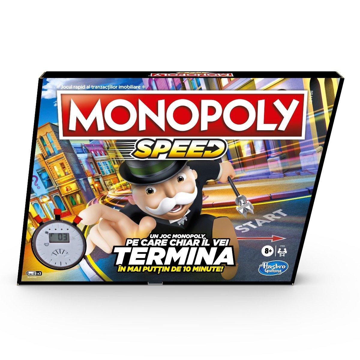 Joc de societate Monopoly Speed