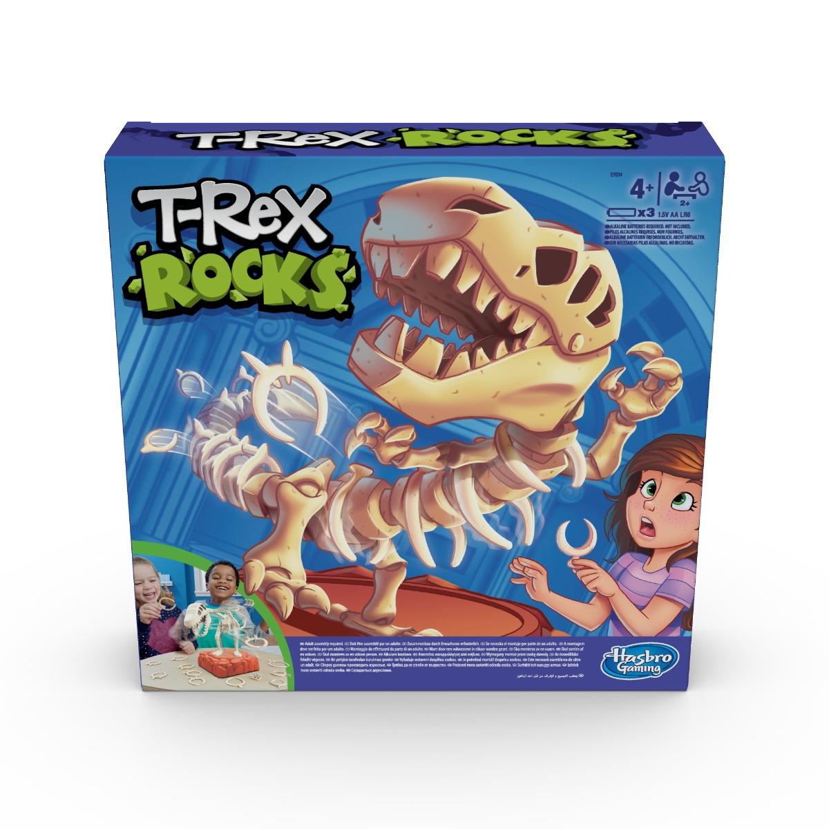 Joc de societate T-Rex Rocks Hasbro Games