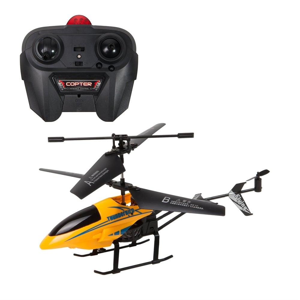Elicopter cu telecomanda Cool Machines Thunderbird Noriel. Galben