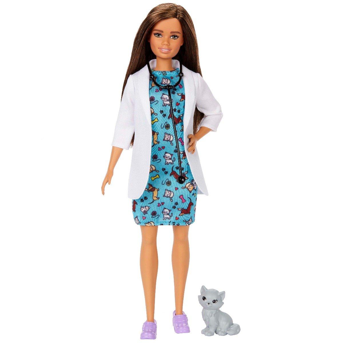 Papusa Barbie Career. Doctor Veterinar