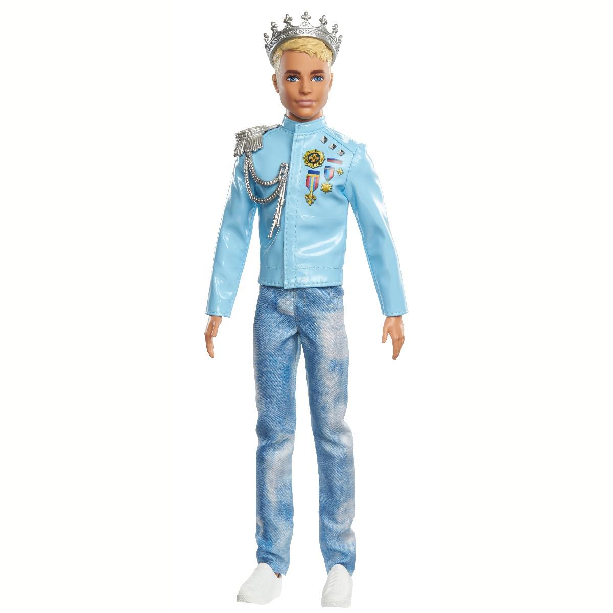 Papusa Barbie Princess Adventure. Printul Ken