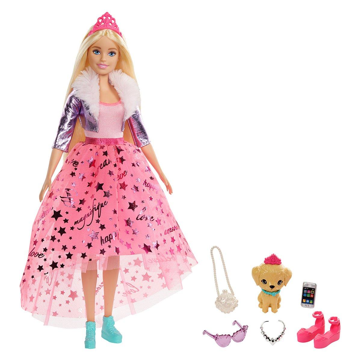 Papusa Barbie Princess Adventure. Printesa Barbie
