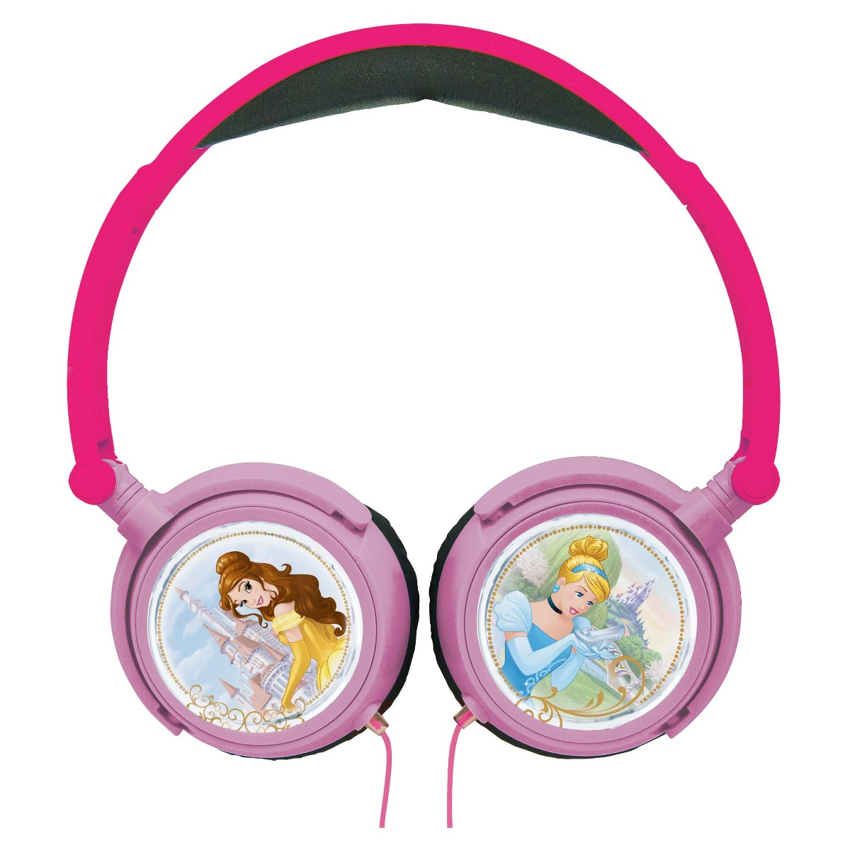 Casti audio cu fir pliabile. Disney Princess