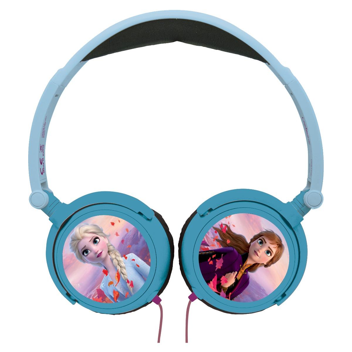 Casti audio cu fir pliabile. Disney Frozen 2