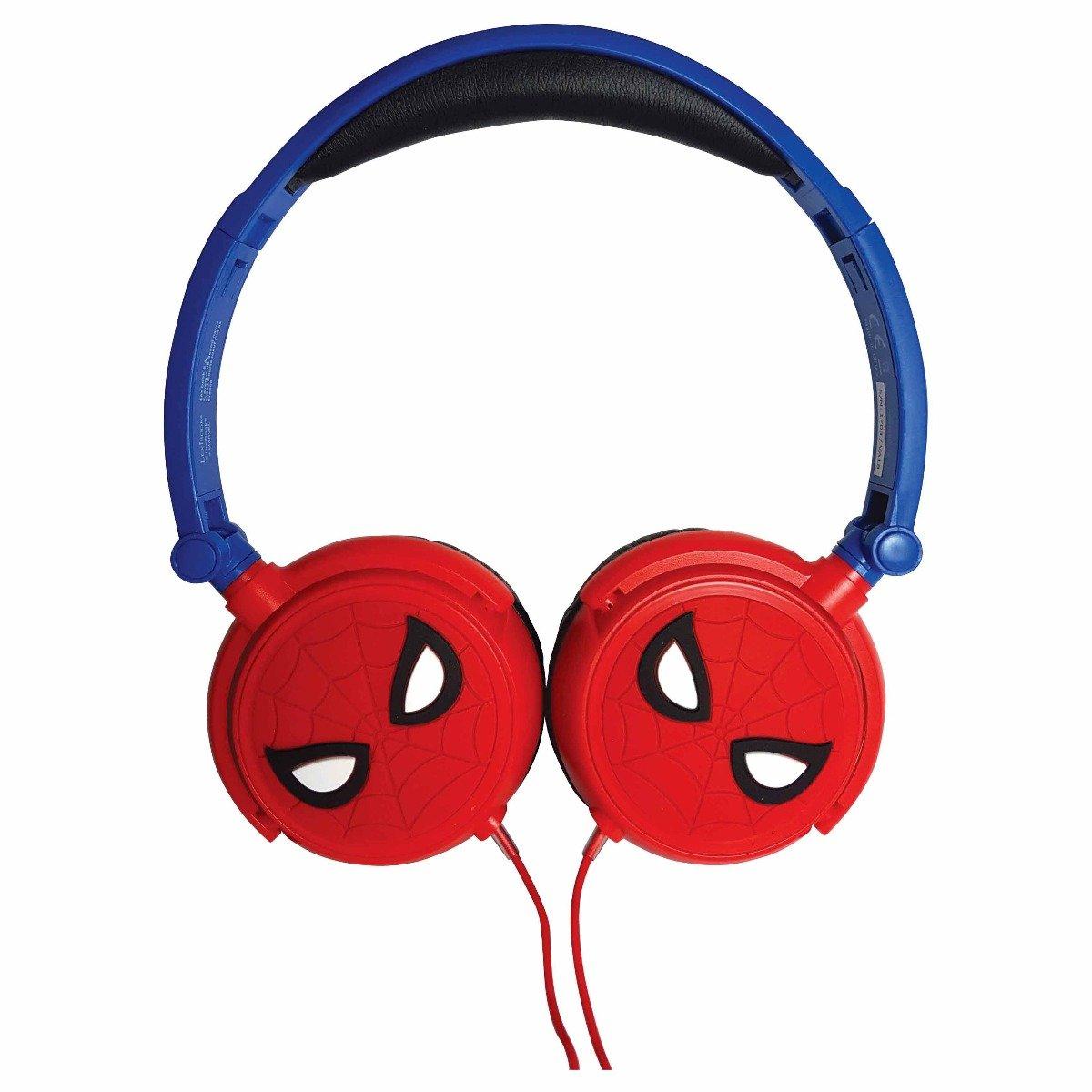 Casti audio cu fir pliabile. Spiderman