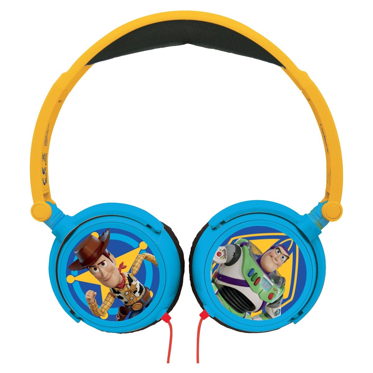 Casti audio cu fir pliabile. Toy Story 4