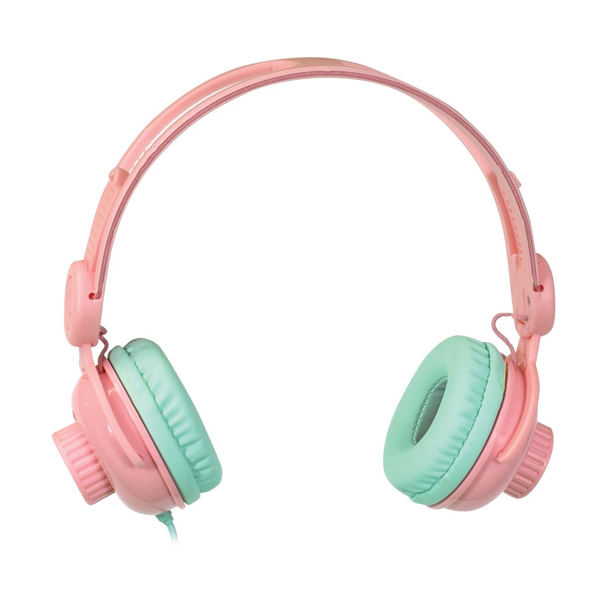 Casti audio pentru copii Noriel On-Ear. Roz