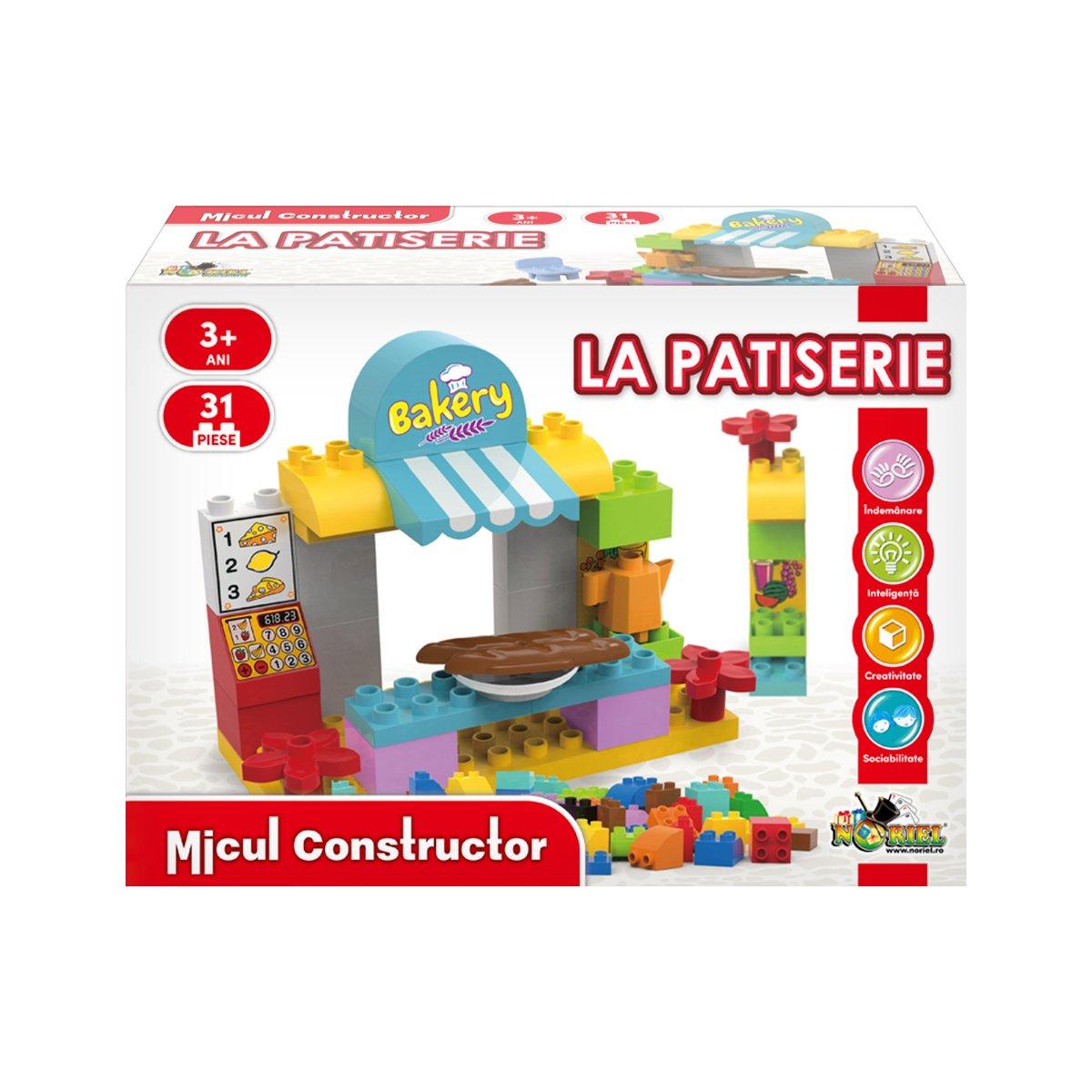 Jucarie de constructie La Patiserie. Micul Constructor