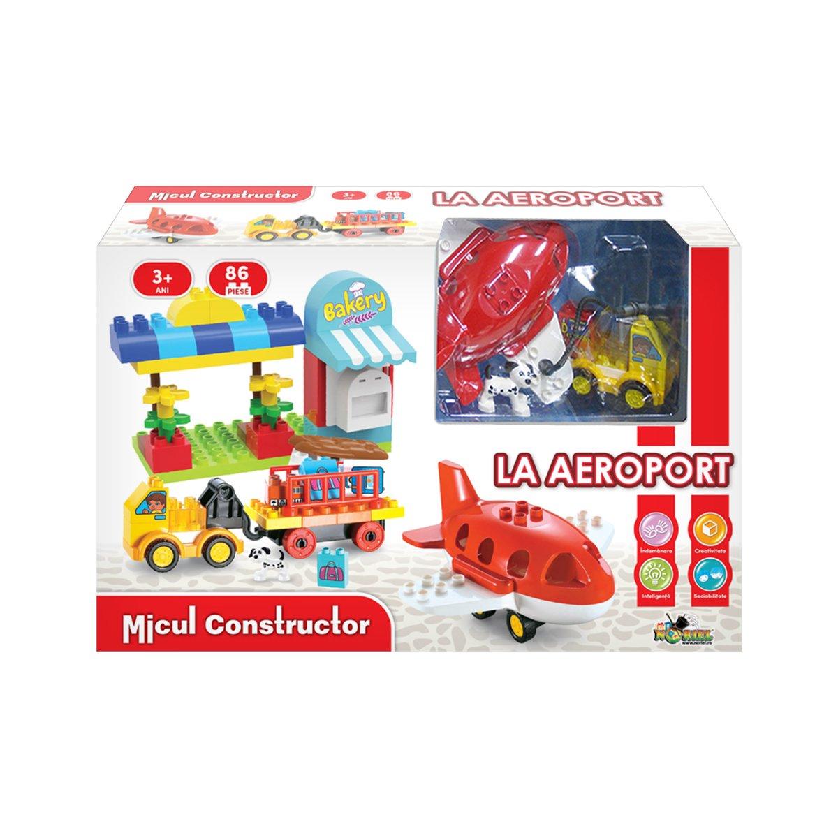 Jucarie de constructie La Aeroport. Micul Constructor