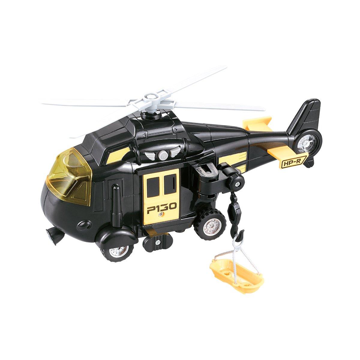 Elicopter cu lumini si sunete Cool Machines. Negru