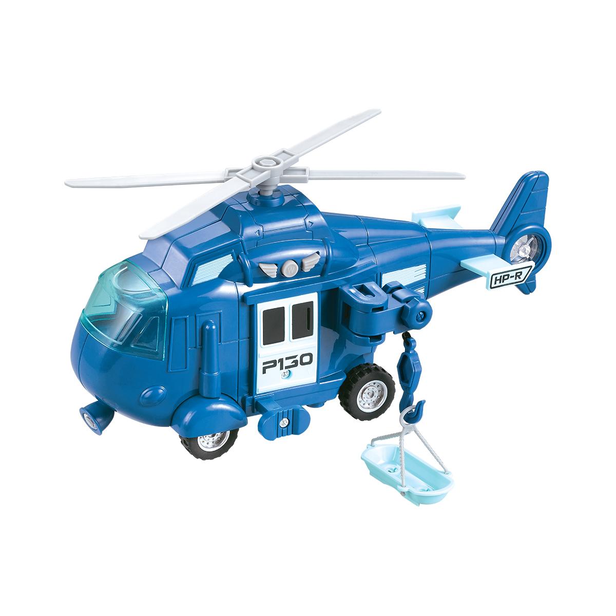 Elicopter cu lumini si sunete Cool Machines. Albastru