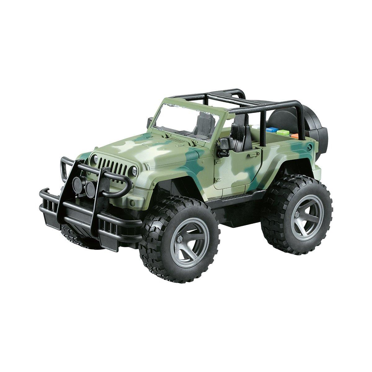 Vehicul militar de teren cu lumini si sunete Cool Machines