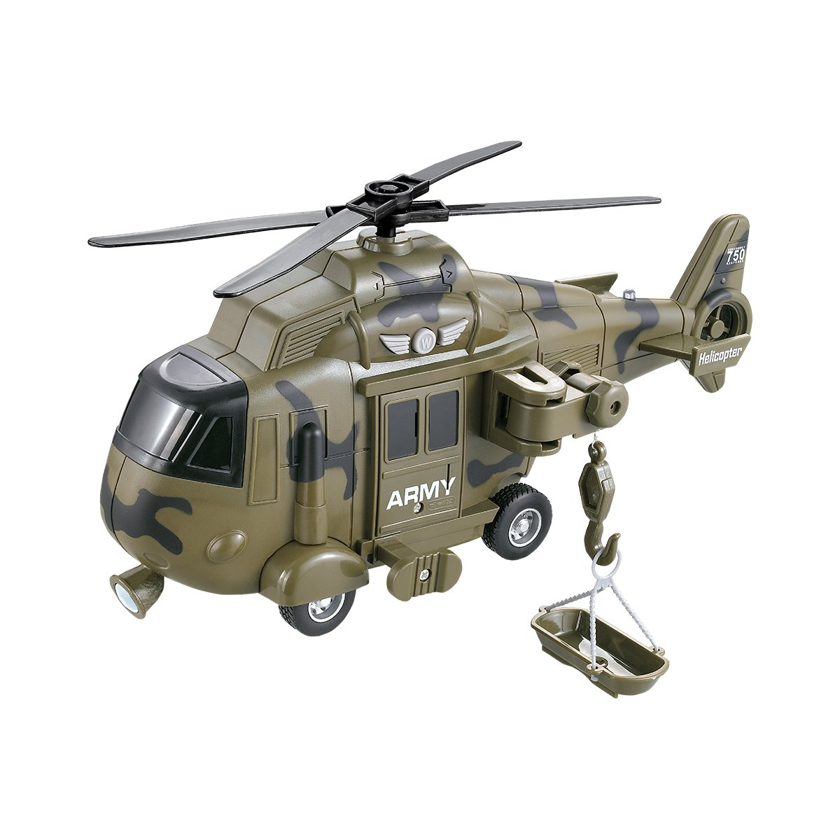 Elicopter militar cu lumini si sunete Cool Machines