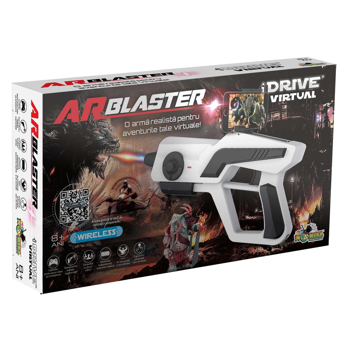 Controller wireless pentru jocuri video AR Blaster iDrive