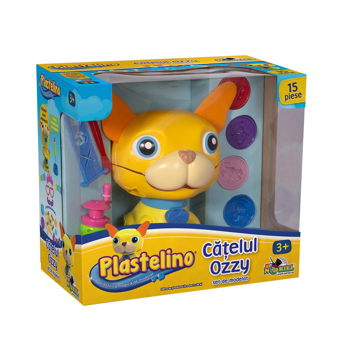 Set de joaca Plastelino - Catelul Ozzy cu plastilina