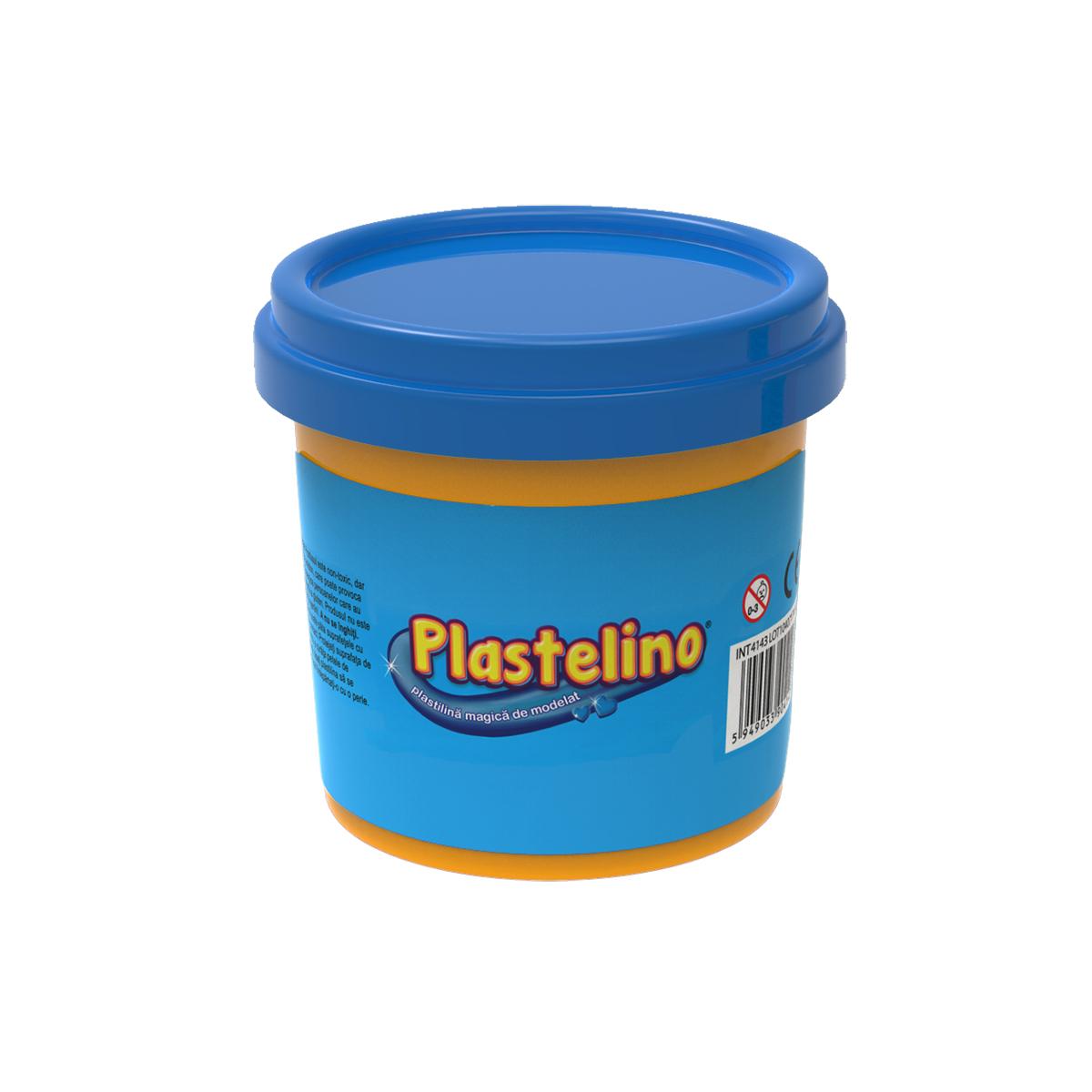 Plastelino - Tub de plastilina. Albastru