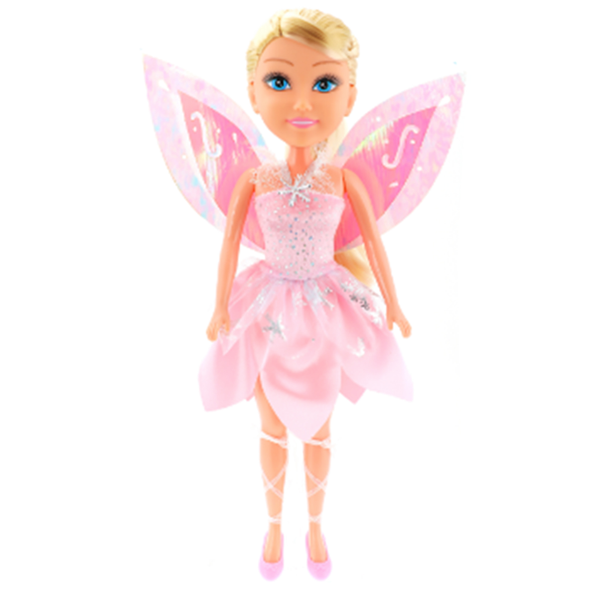 Papusa Colectia Lilia - Craiasa cu rochita roz