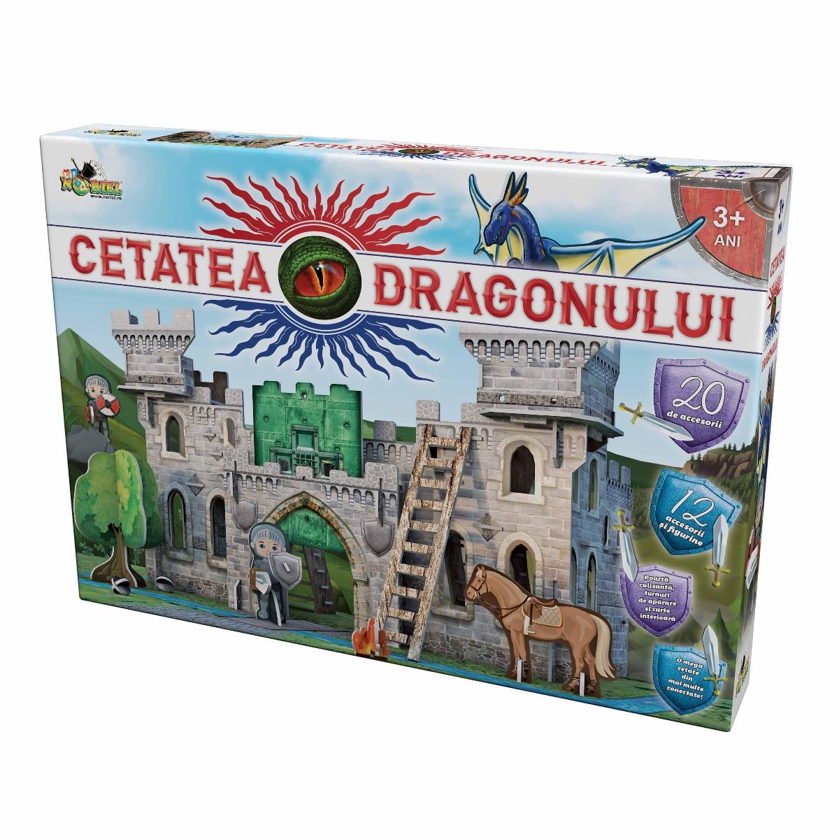 Puzzle 3D Noriel - Cetatea Dragonului. 116 piese