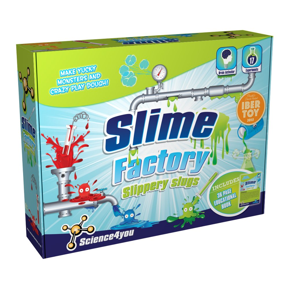 Joc educativ Science4you. set fabrica de slime