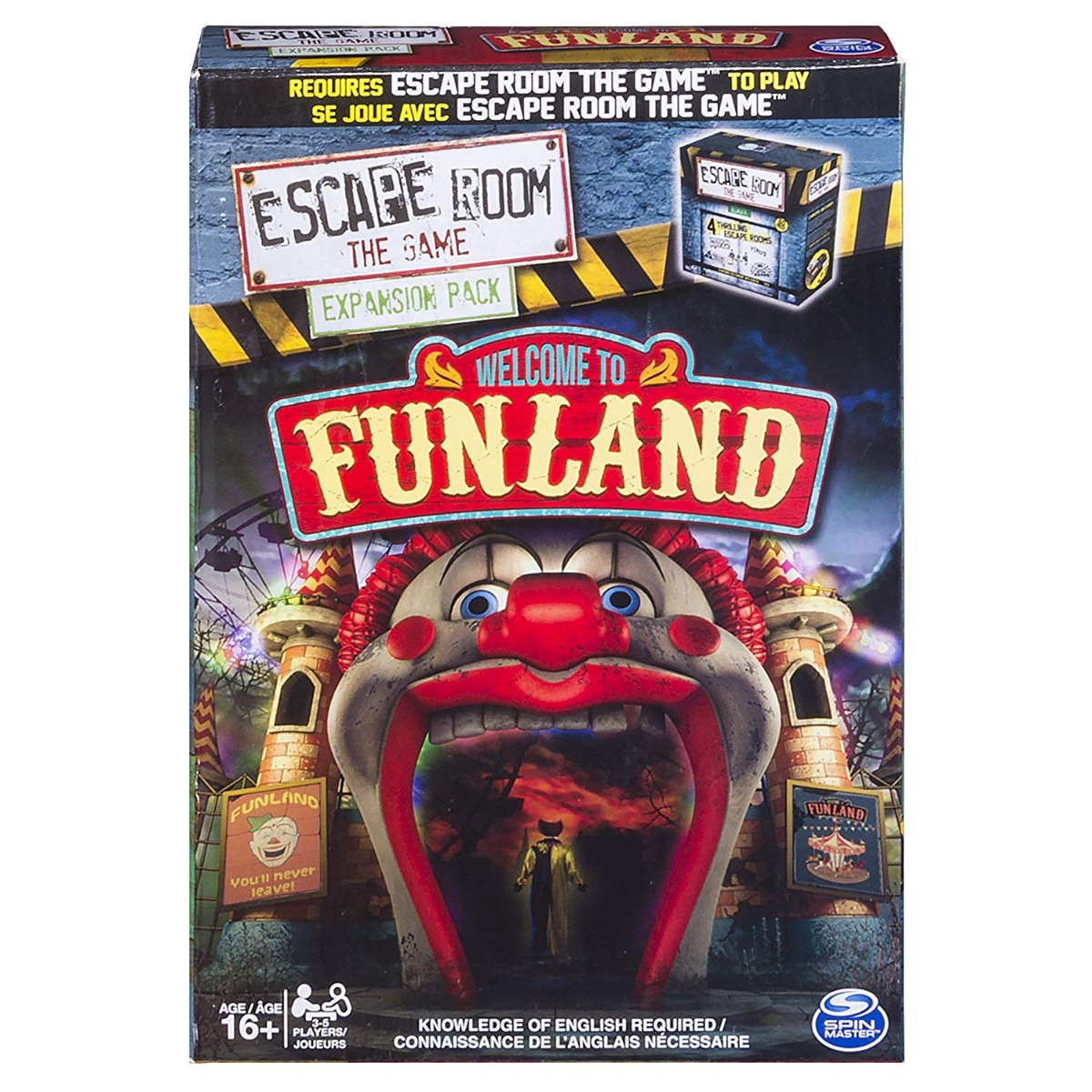 Joc de societate Escape Room Extension Pack Funland