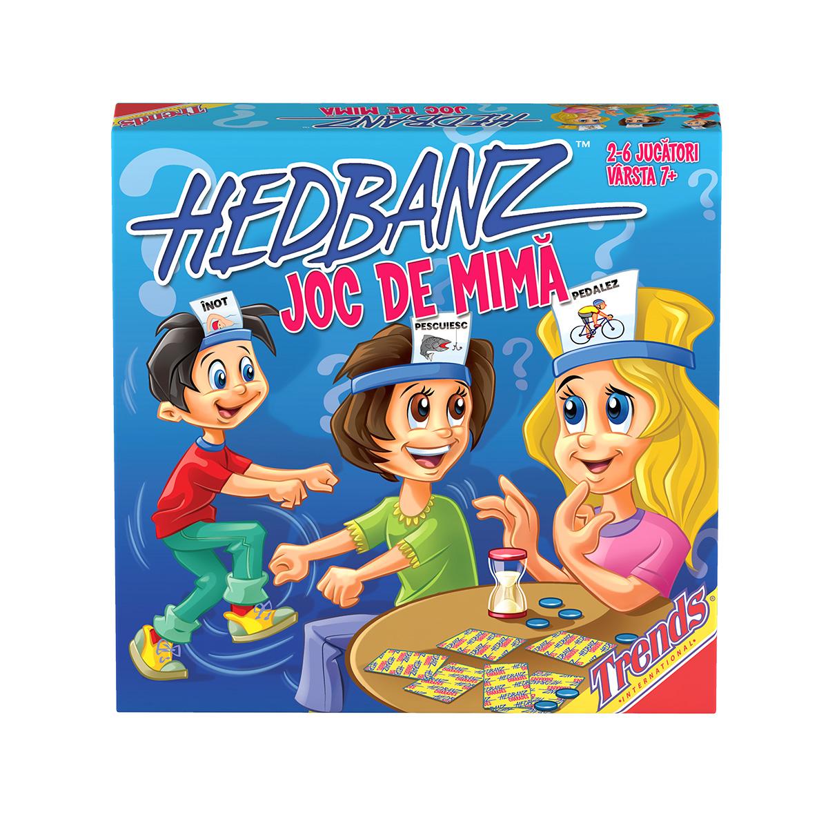 Joc de societate Hedbanz - Mima