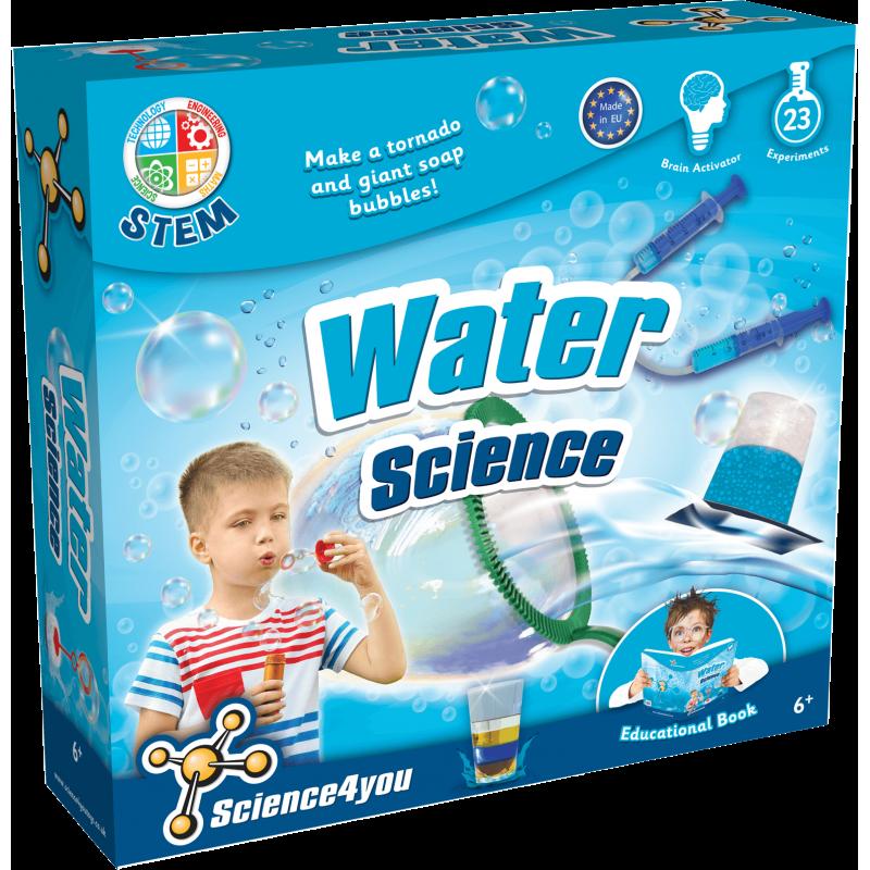Joc educativ Science4you. set experimente cu apa
