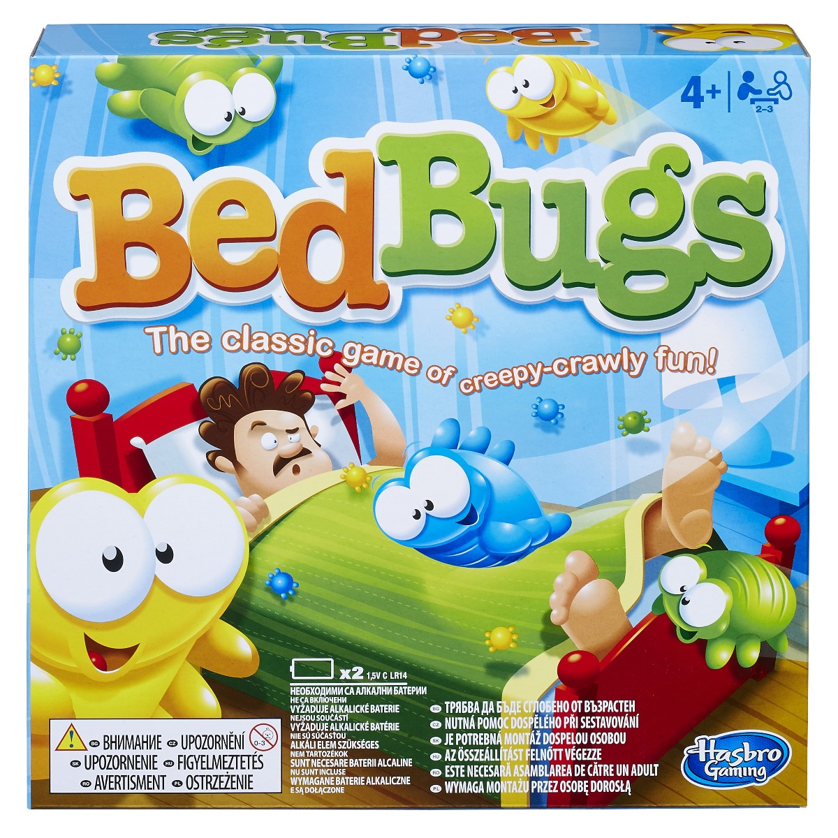 Joc interactiv pentru copii Bed Bugs
