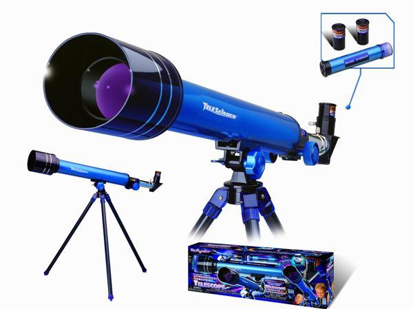 Jucarie interactiva - Telescop Astronomic Eastcolight 50 mm. 30/60x