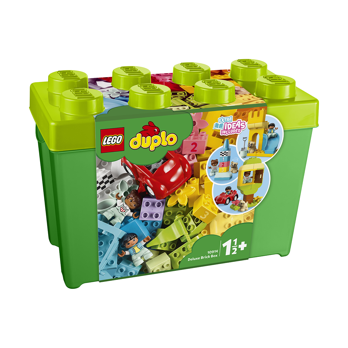 LEGO® DUPLO® - Cutie deluxe in forma de caramida (10914)