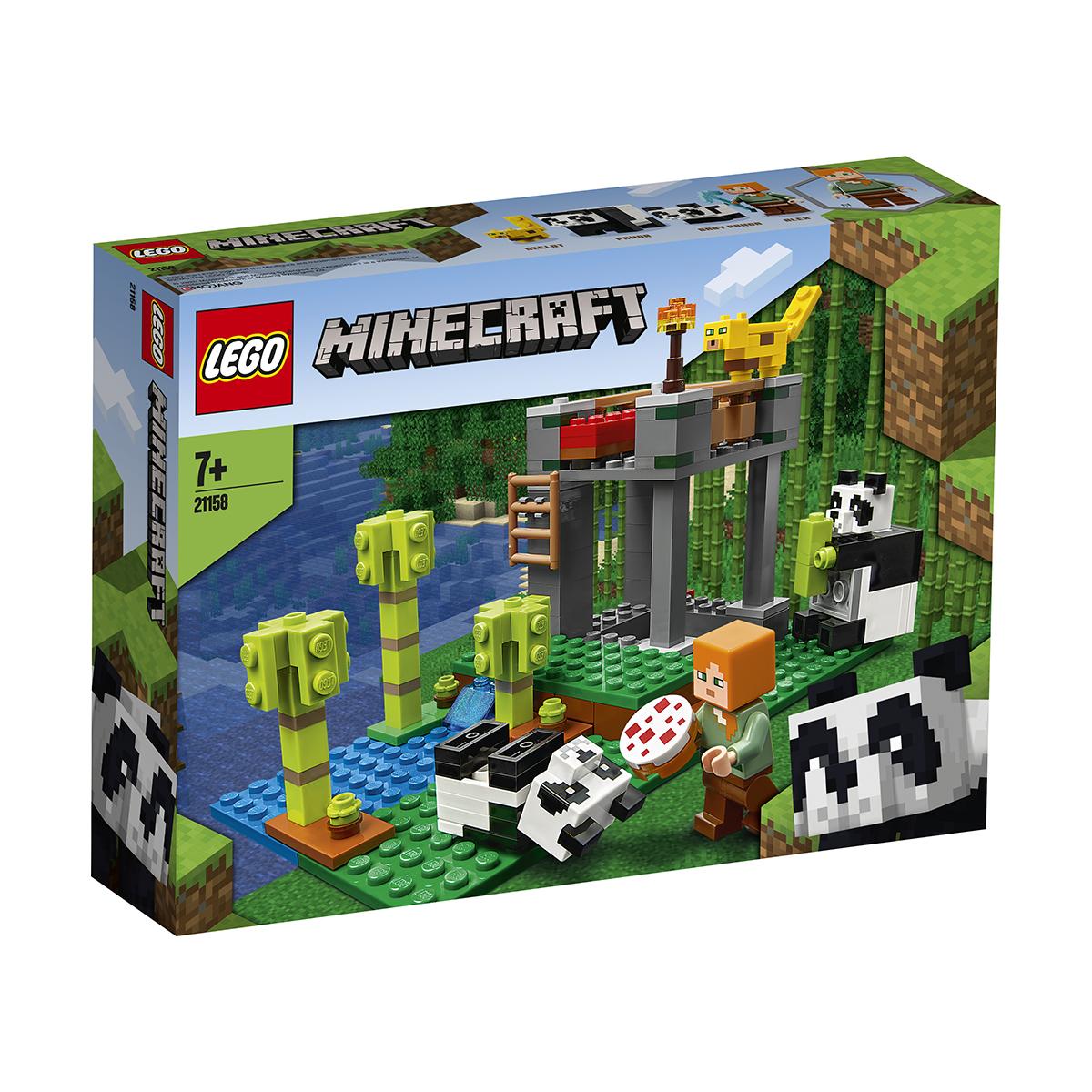 LEGO® Minecraft - Cresa ursilor panda (21158)