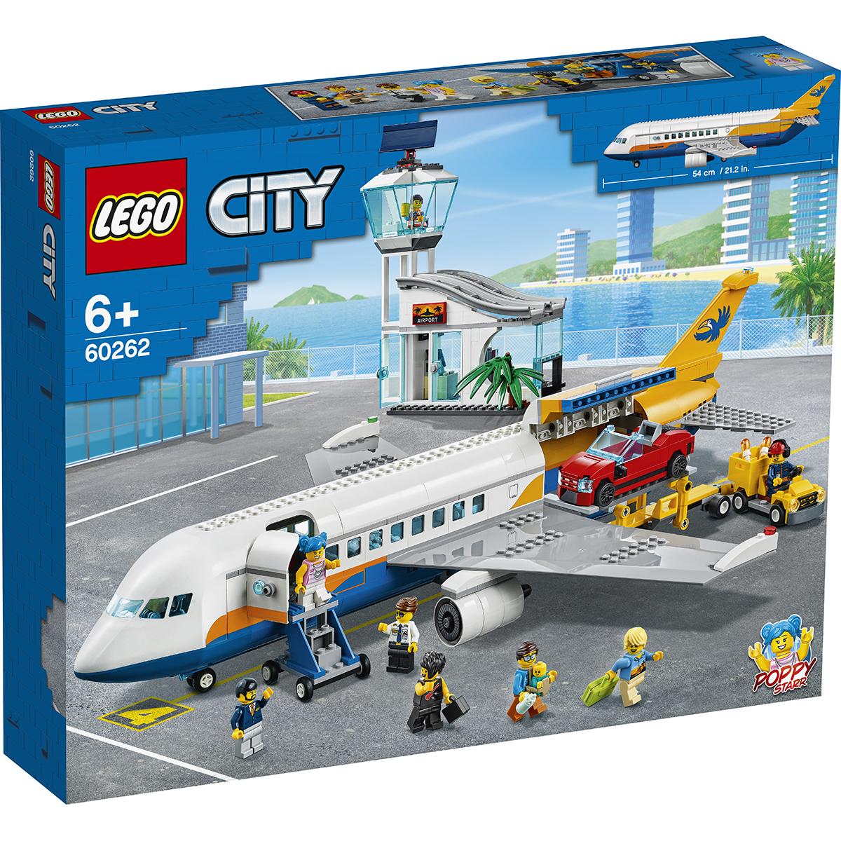 LEGO® City - Avion de pasageri (60262)