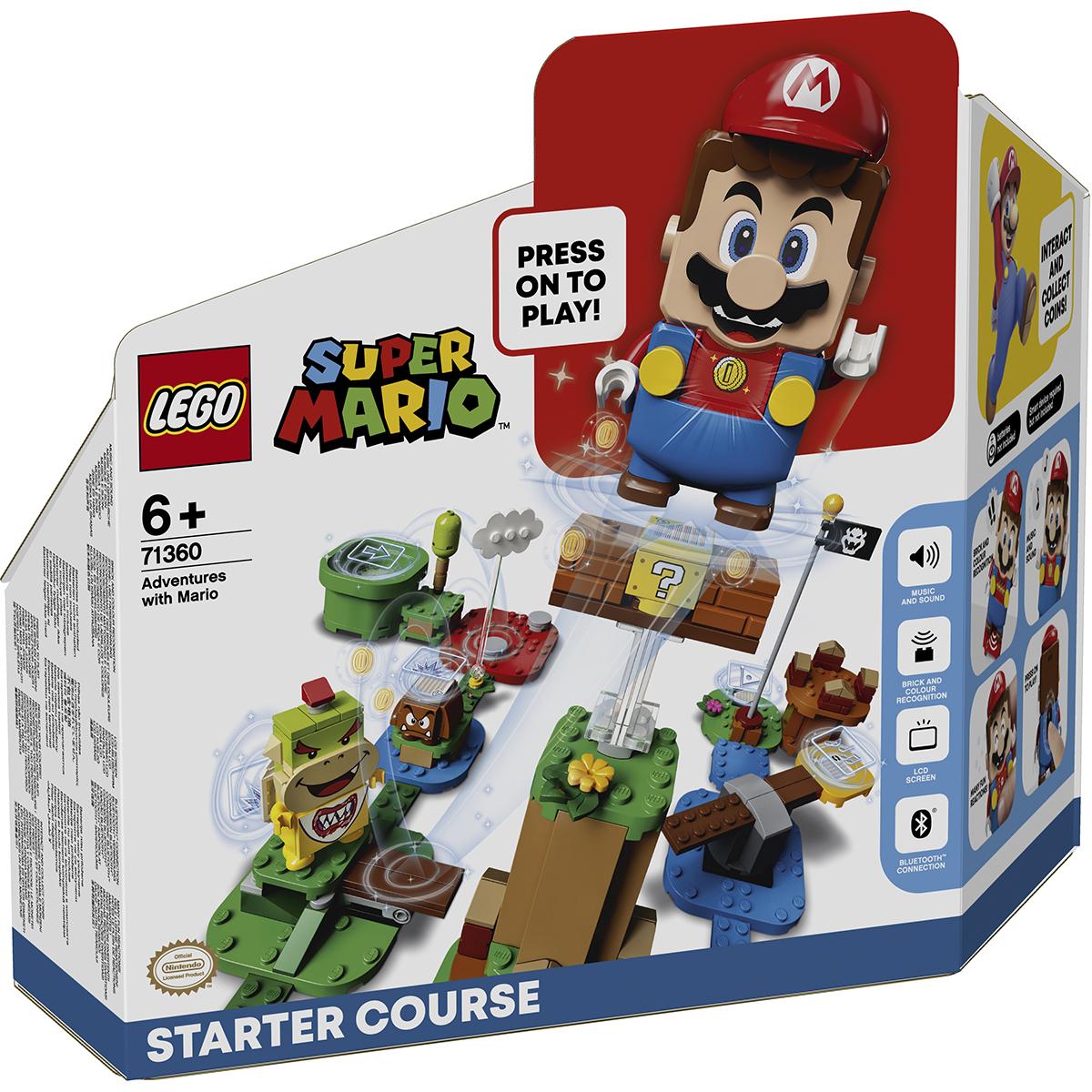 LEGO® Super Mario - Aventurile lui Mario - Set de Baza (71360)