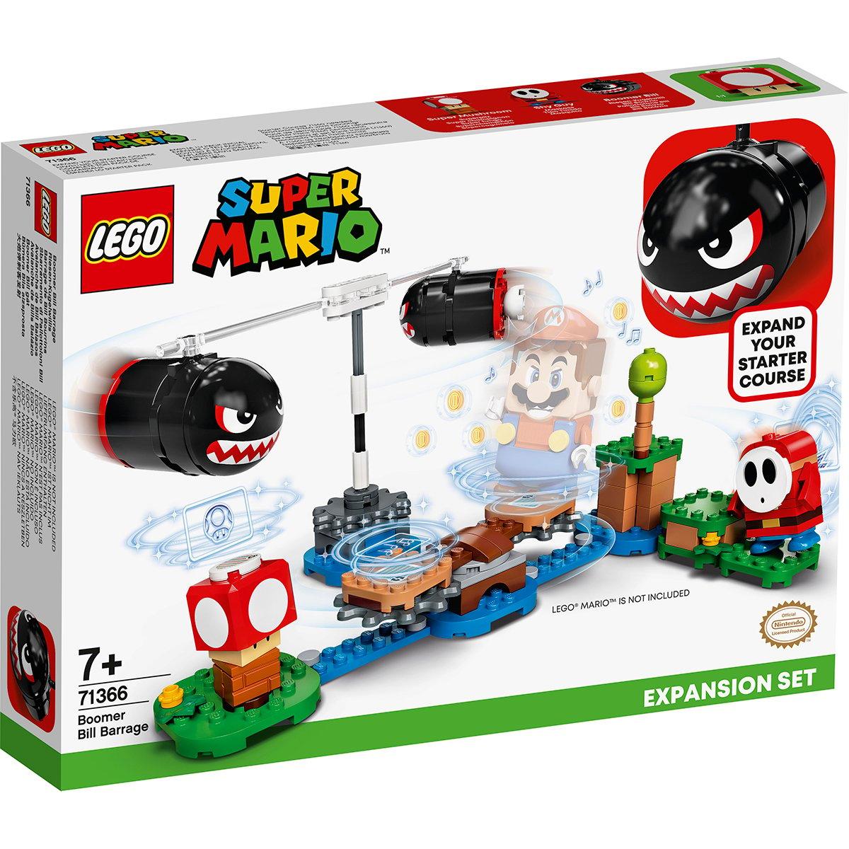 LEGO® Super Mario - Set de extindere Atacul lui Boomer Bill (71366)