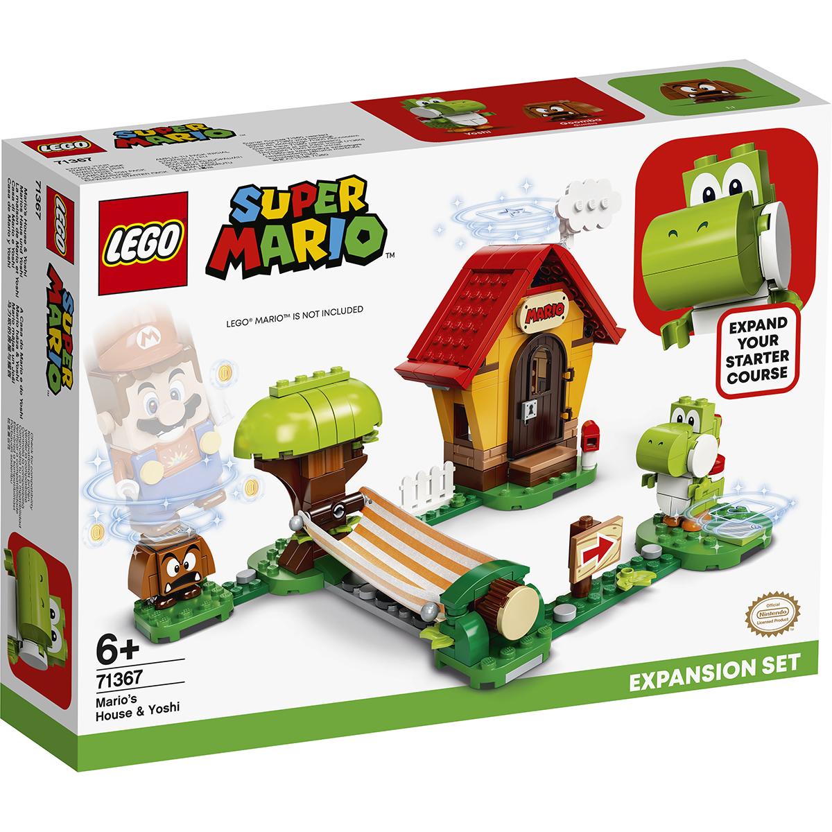 LEGO® Super Mario - Set de extindere Casa lui Mario si Yoshi (71367)