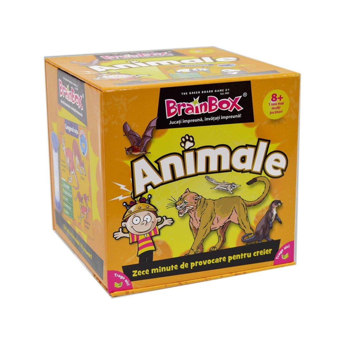 Joc educativ BrainBox - Animale