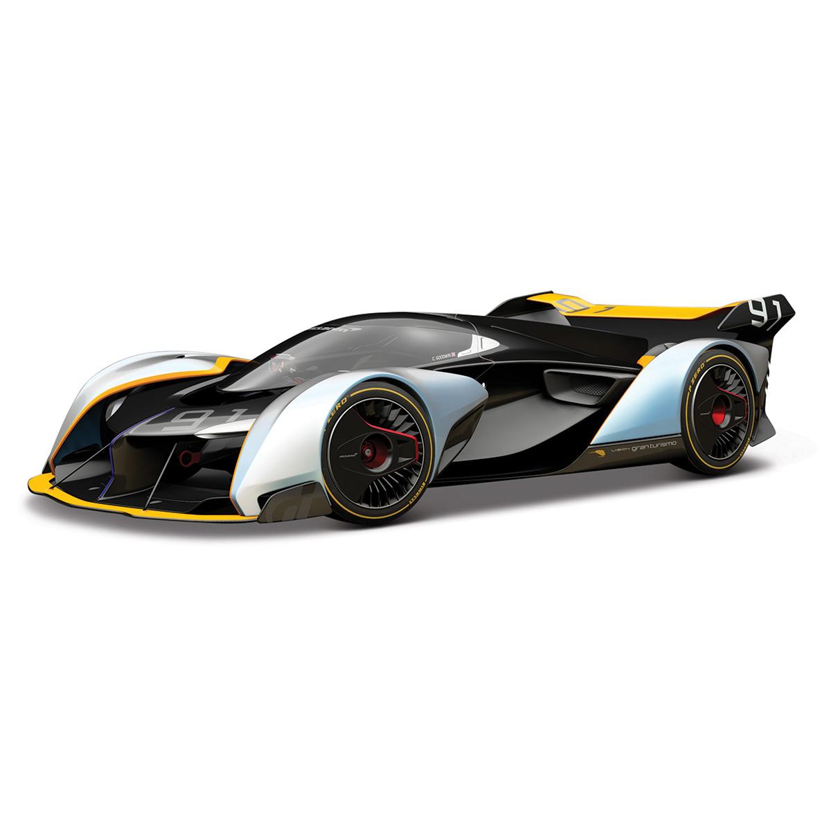 Masinuta Maisto Nissan Gran Turismo. 1:32. Negru