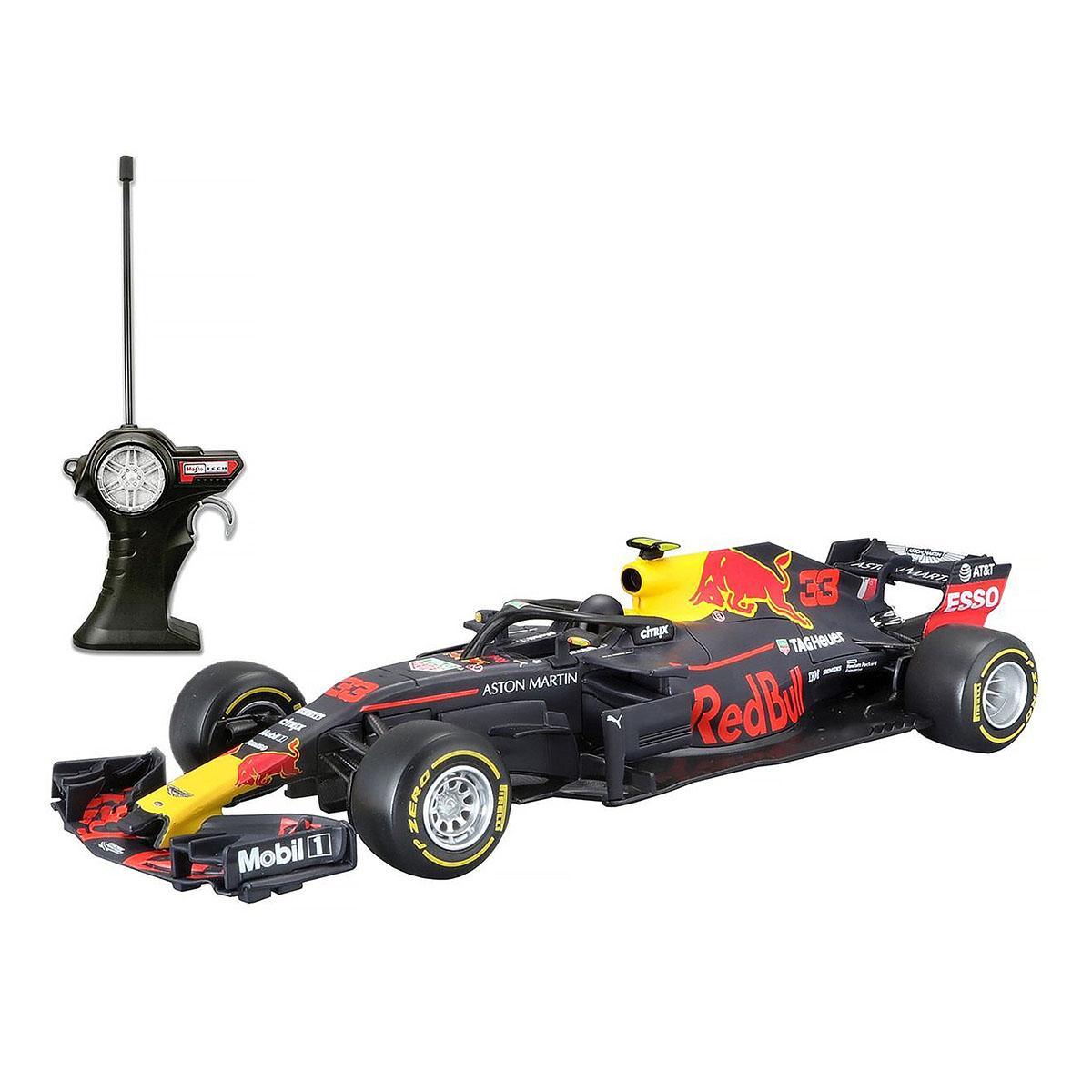 Masinuta cu telecomanda Maisto Aston Martin RB14 Max Verstappen. 1:24. 27 MHz