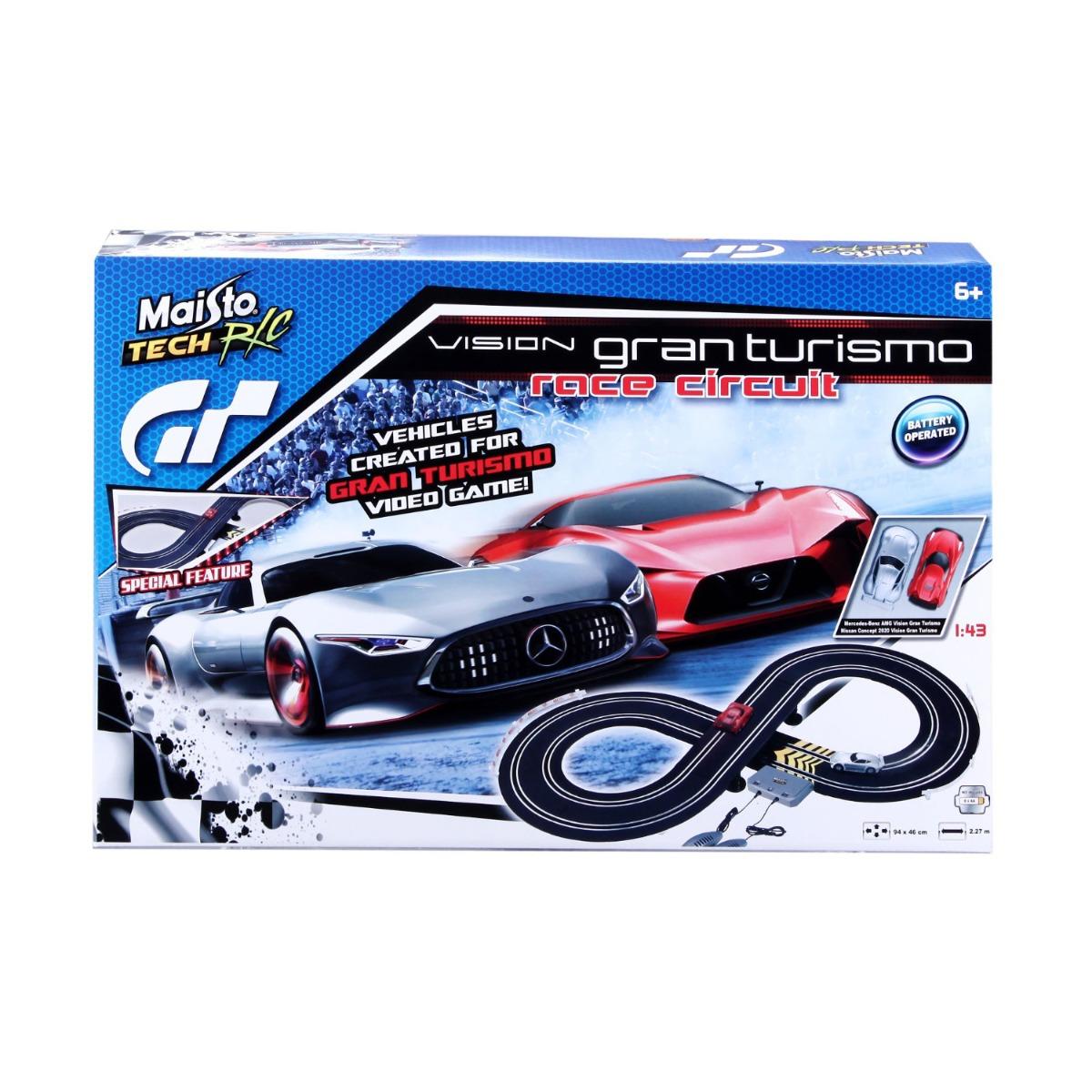 Set masinute Maisto - Vision Grand Turismo Race Circuit. 1:43