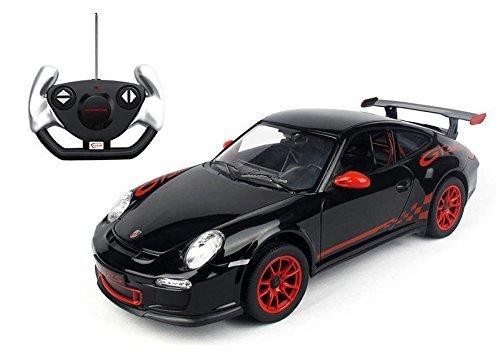 Masina cu telecomanda Rastar Porsche GT3 1:14.  Negru