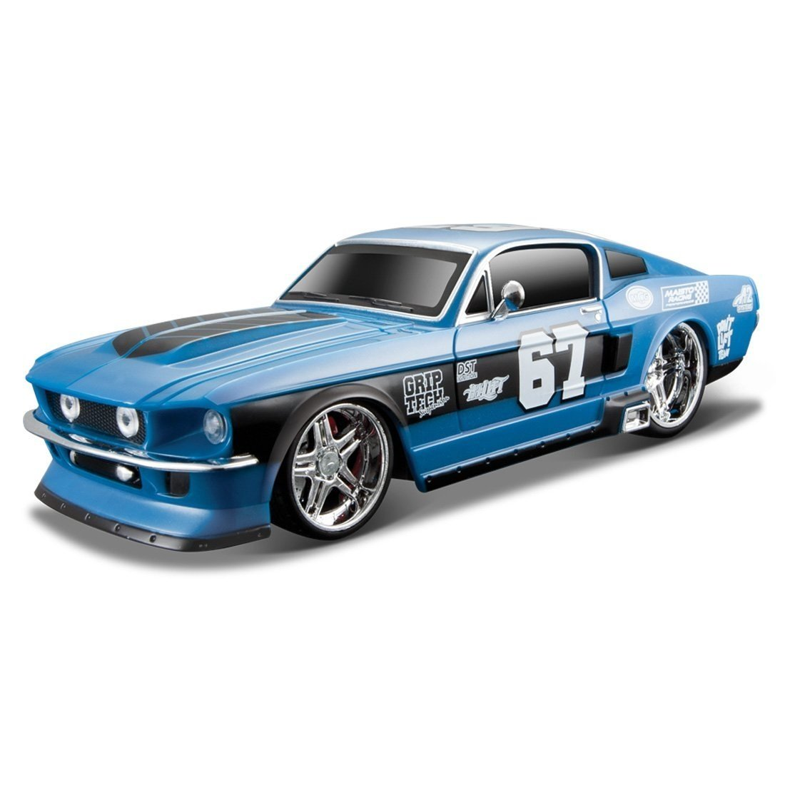 Masinuta Maisto MotoSounds Ford Mustang GT1967. 1:24