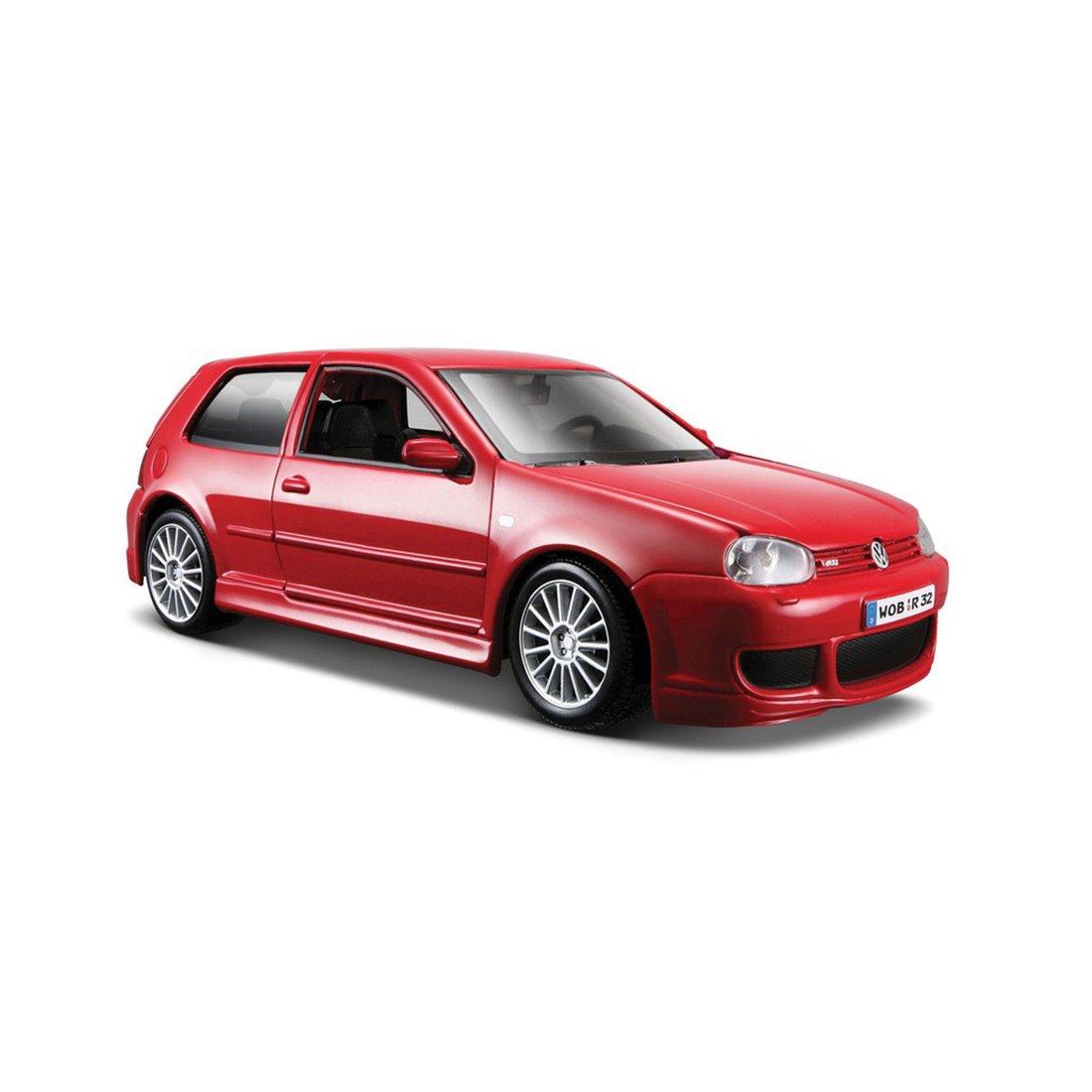 Masinuta Maisto Volkswagen Golf R32 1:24. Rosu
